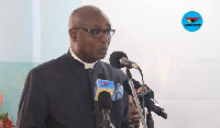 Vice President at the Trinity Theological Seminary, Rev. Prof Kwabena Asamoah-Gyadu