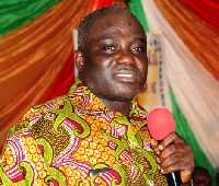 Mr Opoku was attacked by some unknown men in his home.
