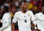 John Paintsil reveals why he played with long and short sleeve jersey