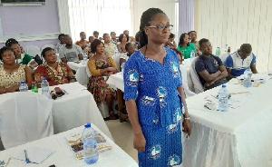 Mary Ofosu, Acting General Secretary of NARM-Gh