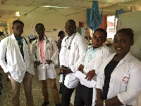 Some physician assistant trainees (file photo)