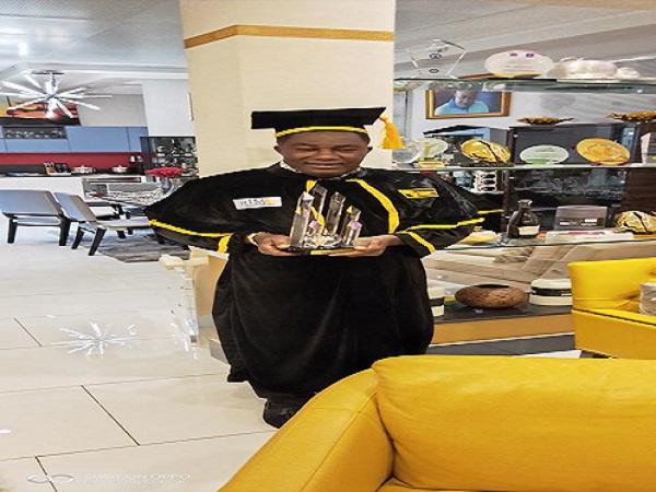 Dr. Ernest Ofori Sarpong honoured