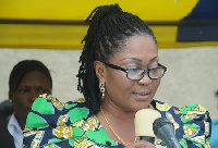 First Lady, Lordina Mahama,