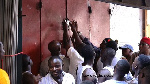 Ghana Union of Traders Association locks shops of Nigerians engaged in retail business