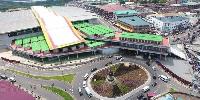 Newly built Kejetia Market
