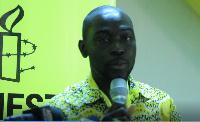 Robert Akoto Amoafo, Director of Amnesty International, Ghana chapter