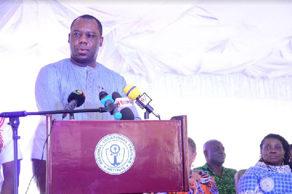 Matthew Opoku Prempeh is the Education Minister