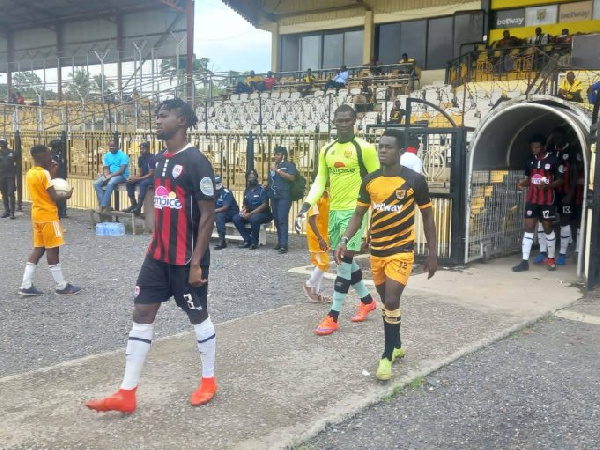 Ashgold and Inter Allies played a match of convenience