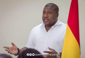 National Youth Organizer of NPP, Henry Nana Boakye