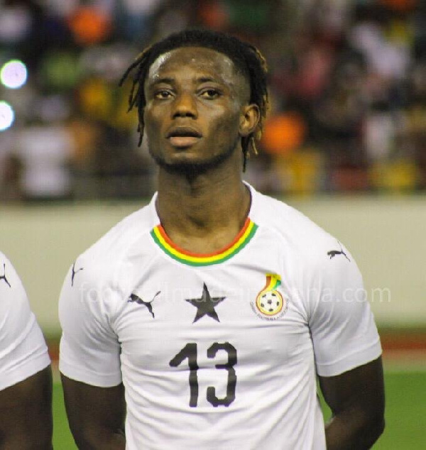 Gideon Mensah delighted with Ghana debut