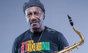 Legendary Highlife musician, Gyedu-Blay Ambolley