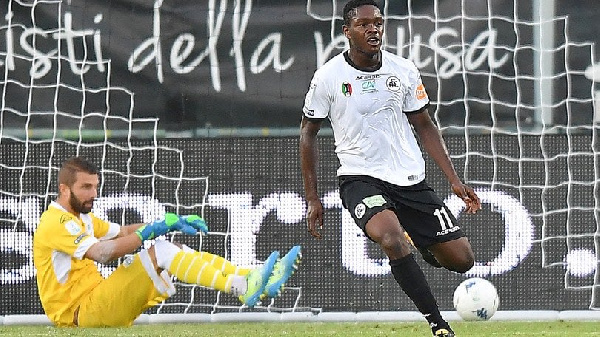 Serie A side Spezia set to seal two-year contract extension with Emanuel Gyasi