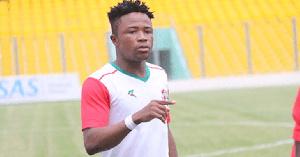 Ghanaian attacker Diawisie Taylor