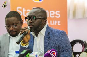 Former Ghana International, Augustine Arhinful