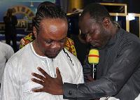 Daddy Lumba and Prophet Badu Kobi