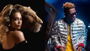 American singer Beyoncé  and Ghanaian dancehall artiste, Shatta Wale
