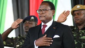 Malawi's President Lazarus Chakwera