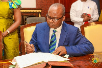 Dr. Ernest Kwamina Addison, new governor of the Bank of Ghana
