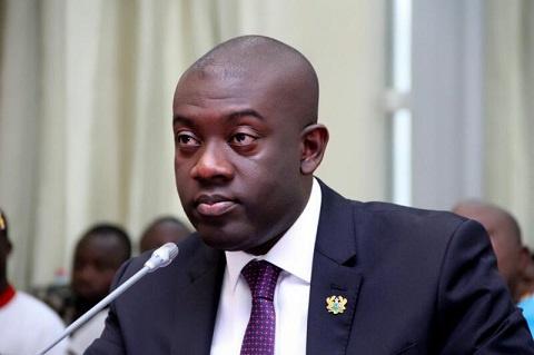Member of Parliament for Ofoase-Ayirebi, Kojo Oppong Nkrumah