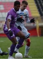 Ibrahim Tanko scores winning goal for Javor Matis