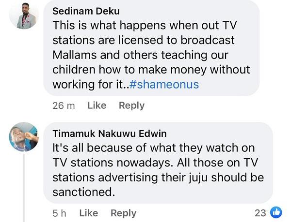 Kasoa murder: Ghanaians call for ban on 'mallams' advertising on TV and radio. 19