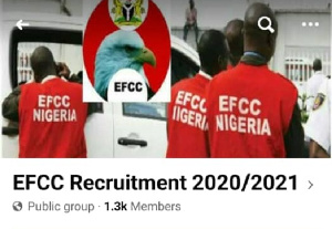EFCC is Nigeria's main anti-corruption outfit