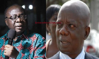 Freddie Blay and Kwadwo Mpiani Former Chief of Staff under the Kufuor administration