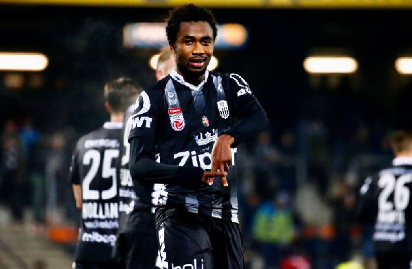 Samuel Tetteh on cloud nine after hitting fourth league goal for LASK Linz
