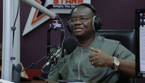Sylvester Mensah is aspiring to become the flagbearer for the NDC in the 2020 elections