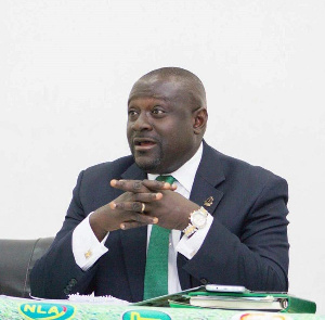 Dr. Mark Assibey-Yeboah, chairman of the  Finance committee