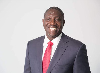 CEO of Consolidated Bank Ghana, Daniel Addo