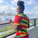Ghanaian athlete, Nadia Eke