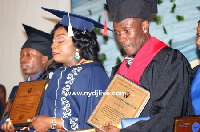 The Blackstars, Asamoah Gyan has been honoured with a doctorate