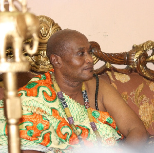 Boni King Tackie Adama Latse II,  President of the Ga Traditional Council