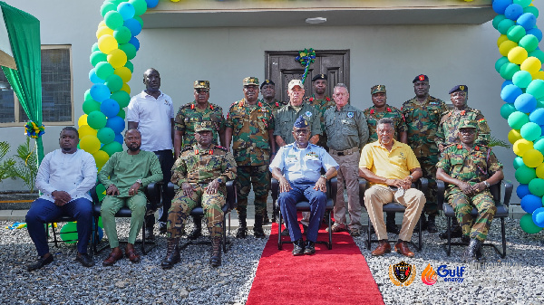 Gulf Energy Commissions 50-bed facility for Ghana Armed Forces