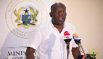 Information Minister, Kojo Oppong-Nkrumah
