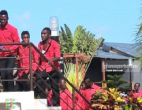 Kotoko Players arrives in Accra
