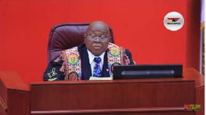 Speaker Mike Oquaye Parliament