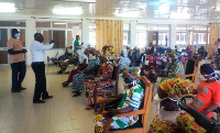 The workshop saw forty female traditional, religious and community leaders trained as 'change agents
