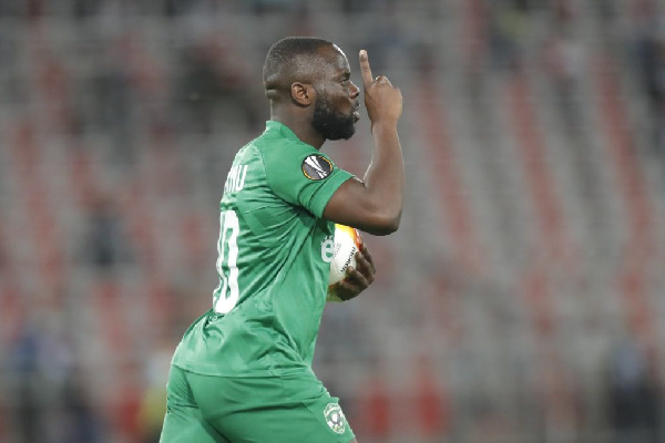Elvis Manu is the most effective striker of Ludogorets this season