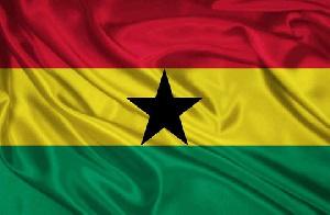 Ghana Flag 0931