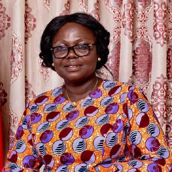 Bono Regional Minister, Justina Owusu Banahene