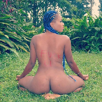 Christabel Ekeh posted some nude pictures of herself on her Instagram page.