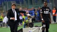 Kwadwo Asamoah worked under Conte at Juve