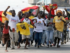 Ghana goes wild with joy