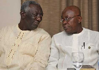 Ex-President Kufuor and Nana Addo