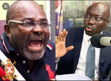 NDC youth curse Ken Agyapong over false accusations against Ato Forson