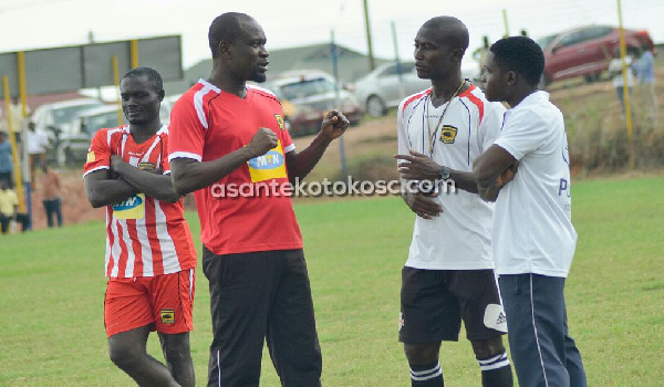 CK Akonnor in chat with his technical team