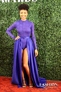 Sister Deborah at 2015 Glitz Awards