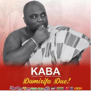 KABA died on Saturday, 18th November 2017